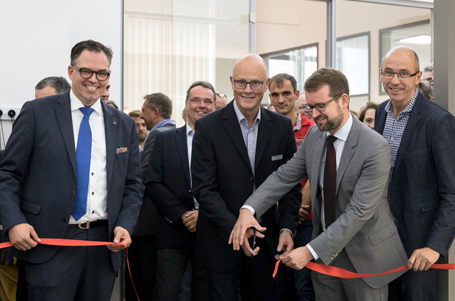 Eröffnung des Guldmann Trainingszentrum