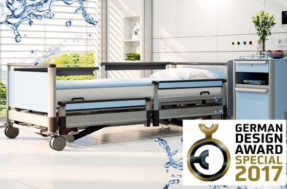 Waschbares Klinikbett image 3-w erhält German Design Award